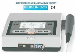 1&3 Mhz Professional Ultrasound Therapy Machine Pain Relief Ultrasound Therapy