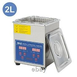 2L Professional Ultrasonic Cleaner For Watch Small Parts 110V Ultrasound Cleaner