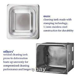 2L Professional Ultrasonic cleaner for Dentures Glasses 110V Ultrasound cleaner
