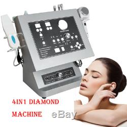 4 in 1 Diamond Microdermabrasion Ultrasound Professional Beauty Machine FDA+Gift