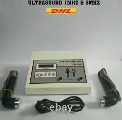 Advanced 1Mhz & 3 Mhz Ultrasound Therapy Machine with LCD Display Professional