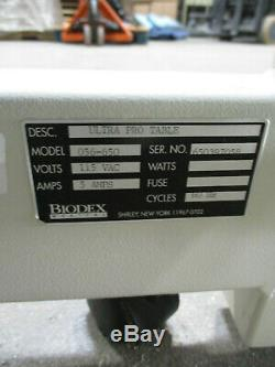 Biodex 056-672 Ultra Pro Power Ultrasound Table Height Adjustable Medical Bed