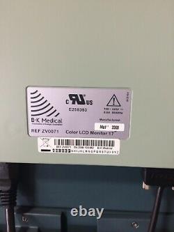 Bk Pro Focus 2202 Ultrasound Flatscreen Monitor Light Source Sony Printer