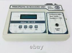 Chiropractic Professional 3 MHz Ultrasound Therapy Machine Physical therapy Home