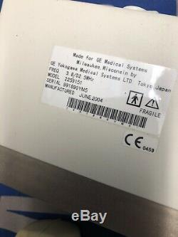GE C358 Convex Ultrasound Transducer Probe Model 2259151 GE LOGIQ 400 Pro Series