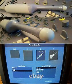 GE Healthcare Ultrasound VOLUSON 730 Pro (Mar2009) With 2 Probes & Manual
