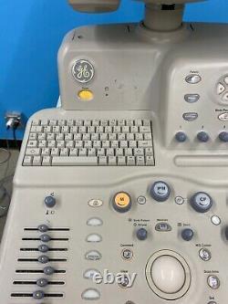 GE LOGIQ 5 PRO ULTRASOUND MACHINE With Transvaginal E8C & Abdominal 3.5C PROBE, 12L