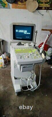 GE Logiq 200 Pro Ultra Sound Machine with extras mfg 2004, 120V, Works Perfectly