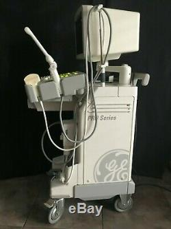 GE Logiq 200 Pro Ultrasound System with 2 Probes & Printer