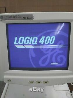 GE Logiq 400CL Pro Series Ultrasound