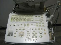 GE Logiq 400 Pro Series Diagnostic Ultrasound Machine+(2) Probes E721 C358