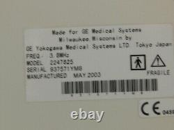 GE Pro Series Logiq 200 OB/GYN Ultrasound Sytem Comes with 1 Probes USED