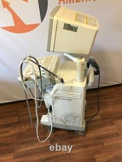 GE Pro Series Logiq 200 OB/GYN Ultrasound Sytem Comes with 2 Probes