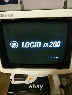 GE Pro Series Logiq CX200 OB/GYN Ultrasound Comes with 2 Probes