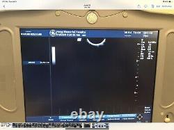 GE Ultrasound Logiq Book XP Pro With Three Probes