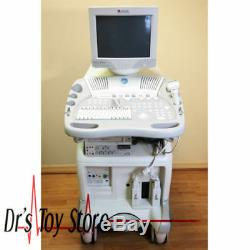 GE Vivid 3 Pro Ultrasound Machine with 3s & 7L Transducer Probes