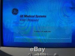 GE Volusom 730 Pro Ultrasound System 3 PROBES