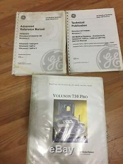 GE Voluson 730 Pro Ultrasound Machine used