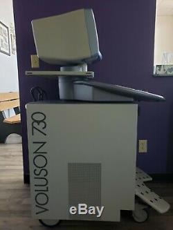 GE Voluson 730 Pro Ultrasound Machine with 1 Probe