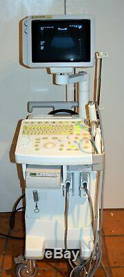Ge Logiq 200 MD Pro Series Ultrasound System 2 Probes- Mtz / Cbf