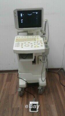 Ge Logiq 200 Pro Ultrasound System 1 Probe Abdominal