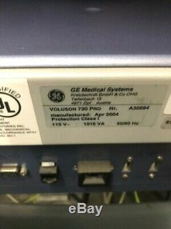 Ge Voluson 730 Pro 3d/4d Ultrasound With 3 Transducers