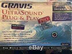 Gravis Ultrasound pro (pnp) rev 3.74 with box