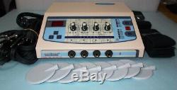 Home Professional 4 channel Electrotherapy Machine Ultrasound Therapy Machine