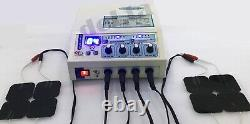 Home / Professional Electrotherapy 4 Channel Pain Relief Electrotherapy Machine