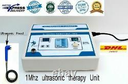 Home Professional Use Ultrasound Therapy Machine 1Mhz Pain Relief Machine ZENEX