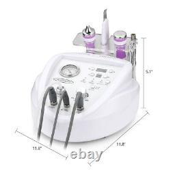 Microdermabrasion 4 in 1 Diamond Ultrasound Professional Skin Scrubber Machine