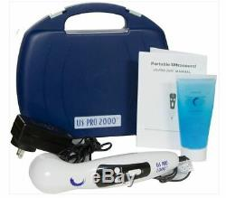 NEW US Pro 2000 2nd Edition Portable Ultrasound Therapy Unit + FREE 8 oz GEL NIB