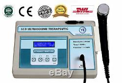 New Professional Use LCD Ultrasound Therapy pain relief Home Use 3 Mhz Unit