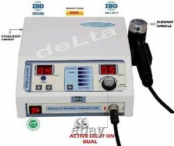 New Professional use Therapeutic Ultrasound Device CE 1 MHz Model Delta Compact