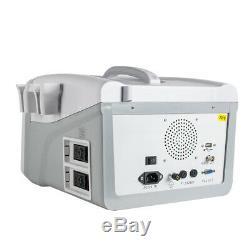 Pro 10-Inch Ultrasound Scanner+6.5MHz Transvaginal Probe+3D+Oximeter Gift
