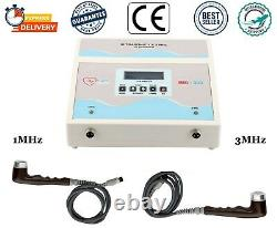Pro 1/3MHz Ultrasound Therapy Machine Ultrasonic Multi Pain Relief Massager Unit