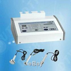 Pro 3MHz Ultrasound Ultrasonic Anti Aging Beauty Facial Skin Spa Salon Machine