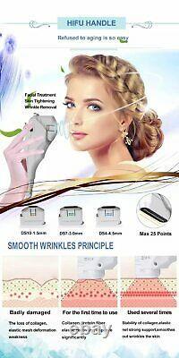 Pro 4D Focused Ultrasound HIFU Face Lift Slimming Spa Salon Beauty Machine