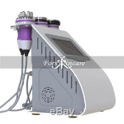 Pro 5 in 1 Vacuum Ultrasound Cavitation Radio Frequency Slimming Beauty Machine