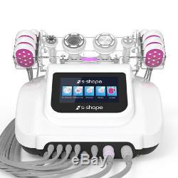 Pro 5in1 Ultrasound 30K Cavitation RF EMS Vacuum Cellulite Slimming Machine Fat
