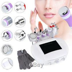 Pro 9 In 1 Facial Machine 3MHZ Ultrasound Scrubber with Cold Hammer Dermabrasion