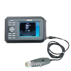 Pro Digtal Ultrasound Scanner Machine Handscan Animal Vet+Probe Veterinary USA
