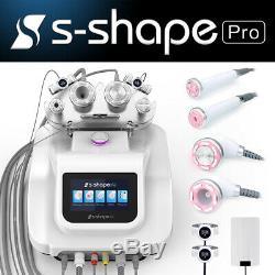 Pro S-SHAPE Ultrasound Cavitation RF Vacuum Weight Loss Slimming Beauty Machine