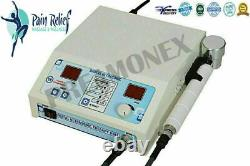 Pro. Ultra sound Therapy for Back & Knee Pain Remove Home 1Mhz Therapy Machine SN