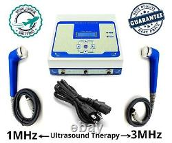 Pro Ultrasonic Therapy Machine Ultrasound 1MHz & 3MHz Physical Pain Relief Unit