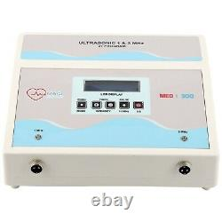 Pro Ultrasound Therapy 1MHz & 3MHz Machine Ultrasonic Puls Pain Relief 2in1 Unit