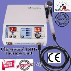 Pro Ultrasound Therapy 1MHz Pain Relief Chiropractic Pulse Lowest Price Machine