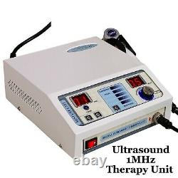 Pro Ultrasound Therapy 1MHz Ultrasonic Electrotherapy 4 Channel Pain Relief Unit