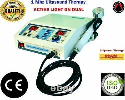 Pro. Ultrasound Therapy Device 1 MHz Compact Model Under water Unit Machine WW3f