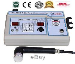 Professional 1 MHz Ultrasound therapy Machine CE Certified Pain Relief Unit